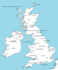 British Isles Map Blank by I Drew A Map Of The Uk According To Someone From London Feel Free