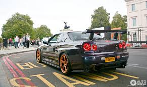 Nissan Skyline R34 Gt R V Spec Midnight Purple Pearl Ii Special
