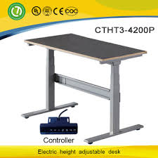 Electronic Height Adjustable Desk Motorized Lift Mechanism Sit Standing Office Desk U0026 Electronic