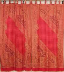 designer window treatments u2013 paisley ethnic décor curtain panels