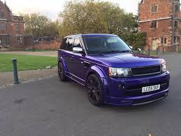 range rover purple range rover sport in ketley shropshire gumtree