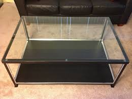 coffee table amazing coffee table with glass display case