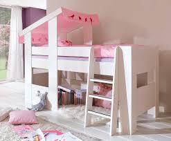 lit enfant ludique lit mezzanine fille avec escalier lit superposé fille fun avec