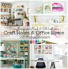 everything we need and want in a craft room u0026 office via