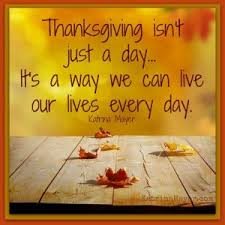 thanksgiving is a way not just a day st andrew s presbyterian