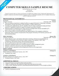 Computer Hardware And Networking Resume Samples Sample Skills Resume Lukex Co