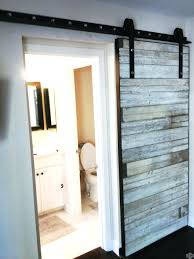 Barn Door For Closet Sliding Barn Doors For Closet Home Design And Decor