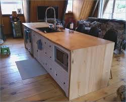 fabriquer un comptoir de cuisine en bois mobokive org