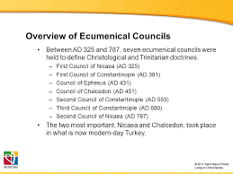 Council Of Constantinople 553 The Development Of Catholic Trinitarian Theology Ppt
