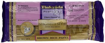 amazon com tinkyada brown rice pasta spaghetti 16 ounce pack