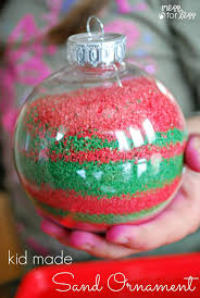 kids homemade christmas ornaments homemade christmas ornaments