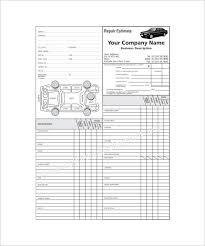 Auto Engine Repair Estimates by Repair Estimate Template 18 Free Word Excel Pdf Documents