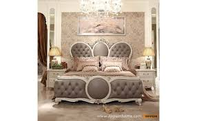 european king bed ob 0314001 luxury european style king bed with fabric headboard