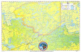 Philmont Scout Ranch Map Wilderness Canoe Treks