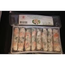 comment cuisiner les crevettes congel馥s rouleaux de printemps aux crevettes 360g le carré asiatique
