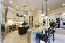 kitchen with island and breakfast bar charming kitchen island breakfast bar curved with undermount