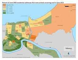 Demographic Map By Zip Code The New Orleans Index At Ten Measuring Greater New Orleans