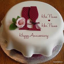 wedding anniversary cakes write your name on wedding anniversary cake profile pic
