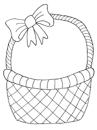 easter egg baskets to make easter egg basket drawing at getdrawings free for personal use