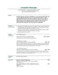 college graduates resume sles sle resumes for college graduates