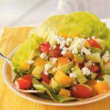 Garden Vegetable Salad by Vegetable Salad Recipes Taste Of Home