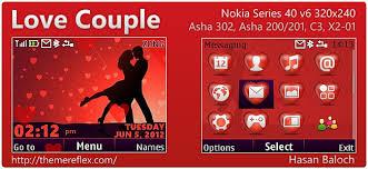 love themes for nokia 5233 love couple theme for nokia asha 302 c3 00 x2 01 320 240