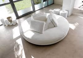 canapé circulaire canapé demi lune et canapé rond 55 designs spectaculaires