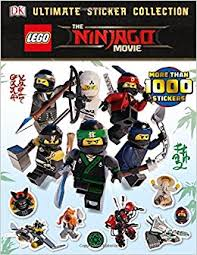ultimate sticker collection lego ninjago movie ultimate