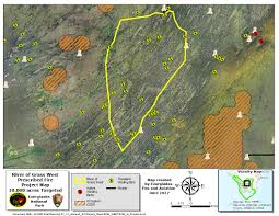 Wildfire Map America by Current Fire Activity Everglades National Park U S National