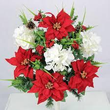 Fake Flower Arrangements Graveside Flowers Artificial Flower Arrangements For Cemeteries