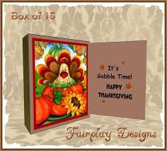 second marketplace box of 15 a gobble gobble of