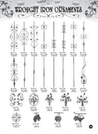 Banister Railing Parts Decorative Wrought Iron Ornamental Iron Gate Fence Railings