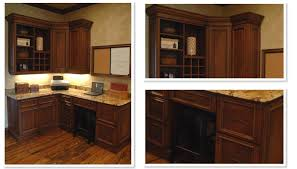 Kitchen Desk Cabinets 14 Best Office Home Office Images On Pinterest Built In Desk