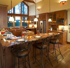 kitchen bar counter ideas bar countertop ideas with combination of wooden and