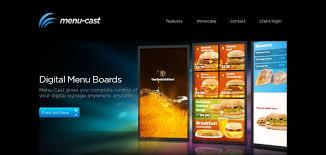 website menu design menu cast website has a great web design best web designs