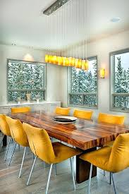 honey colored dining table elegant and colorful dining room furniture colorful dining chairs