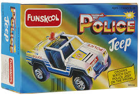 buy funskool police jeep multi color online at low prices in