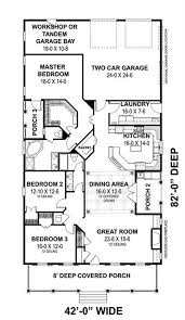 country home plan 3 bedrms 2 baths 2208 sq ft 123 1093