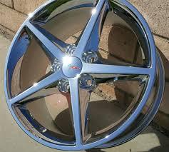 chrome corvette wheels house of wheels corvette o e wheels