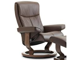 Stressless Peace Small Reclining Chair with Classic Base  Novello