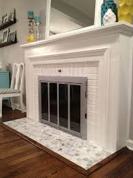 cool tiled hearth fireplace decoration ideas collection simple to