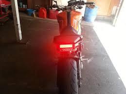 bicycle rear fender light bike litez tail light and fender eliminator