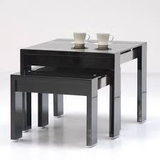 buy nest of tables onyx hi gloss black nested tables stuff to buy pinterest