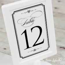 121 best wedding table numbers images on pinterest wedding table
