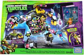mega construx teenage mutant ninja turtles transforming turtle