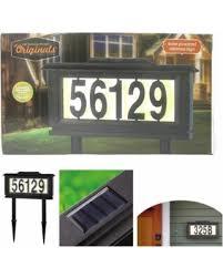 solar light for home savings on solar powered address sign night black light home house