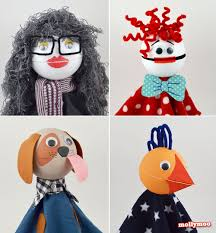 mollymoocrafts how to make talking puppets