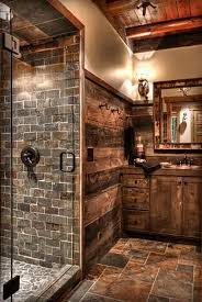 rustic cabin bathroom ideas best 25 cabin bathrooms ideas on pinterest small cabin bathroom