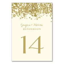 gold wedding table numbers table card coles thecolossus co