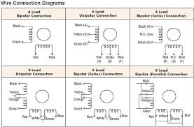 stepper motor wiring diagram stepper wiring diagrams instruction